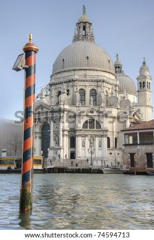 The Santa Maria Della Salute - stock photo