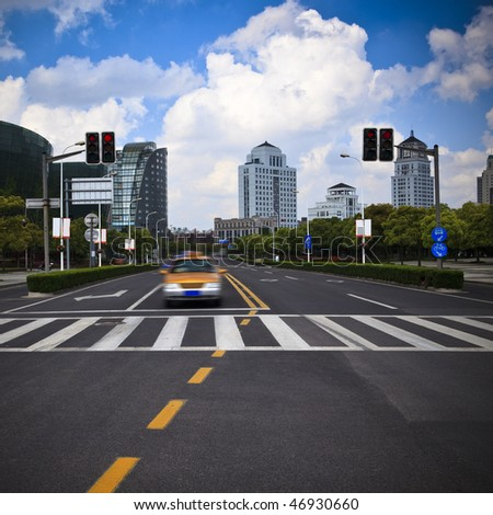the scene of the century squre pudong shanghai china. - stock photo