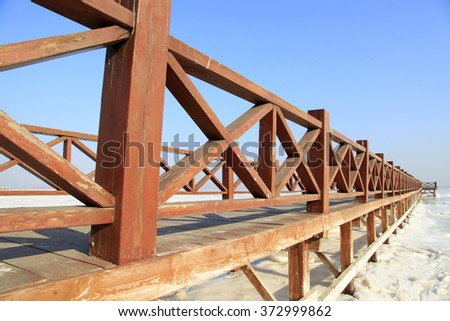 The sea trestle