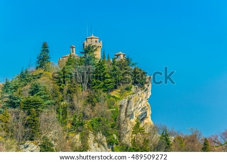 The second tower of San Marino: the Cesta or Fratta