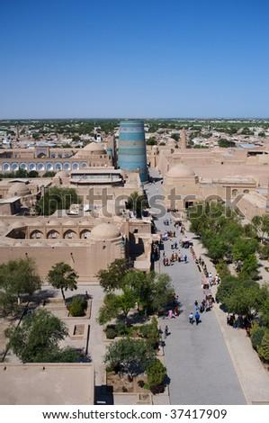 The sight of Khiva - stock photo