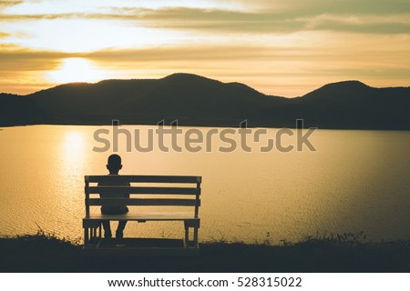 Alone stock images royalty free images vectors - Cartoon girl sitting alone ...