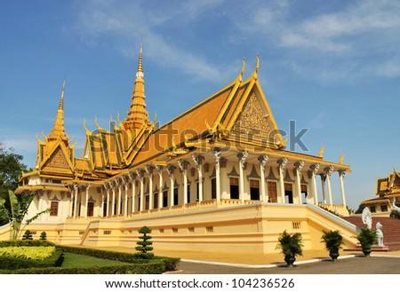 The Silver Pagoda of Royal Palace? Phnom Penh, Cambodia - stock photo