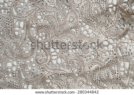 The skin texture with a broken red lace pattern,   Photography Studio - stock photo