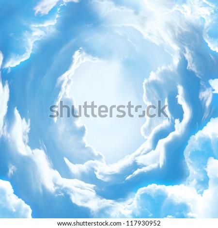 The sky - stock photo