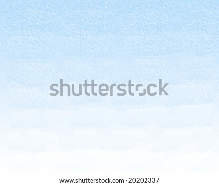 the snow and the ice winter - stock photo