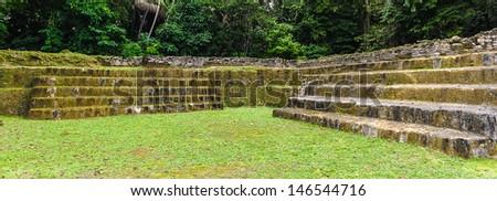 The southern acropolis - stock photo