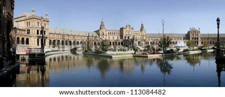The Spanish Square in Seville