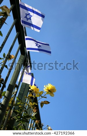 The State of Israel flag