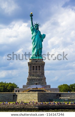 The Statue of Liberty - stock photo