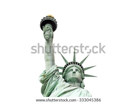The Statue of Liberty, New York, USA - stock photo