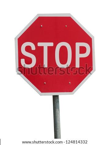 "The ""stop"" - stock photo"