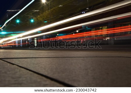 The street light. - stock photo