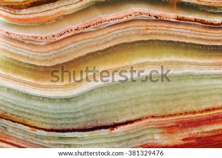 The structure of the variegated onyx / texture of natural stone, onyx, marble  - stock photo