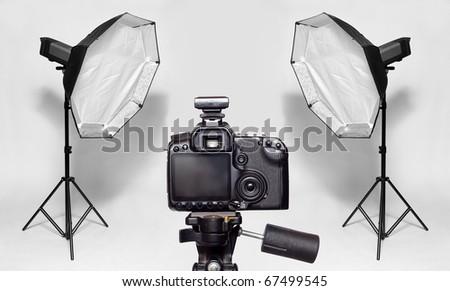 The studio. - stock photo