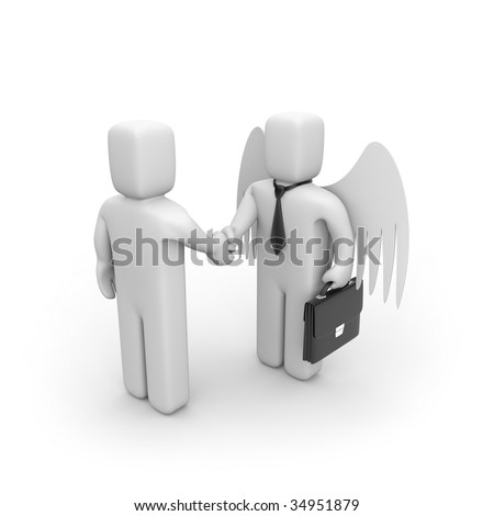 The successful agreement. Business concept - stock photo