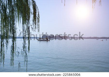 The Summer Palace of Beijing,China - stock photo