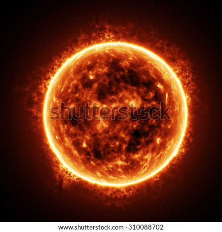 The Sun - stock photo