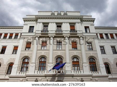 The Supreme Court of Slovenia, Ljubljana - stock photo