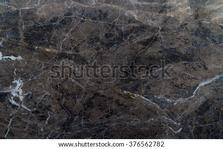 The surface of the granite stone rock with pattern brown antique. - stock photo