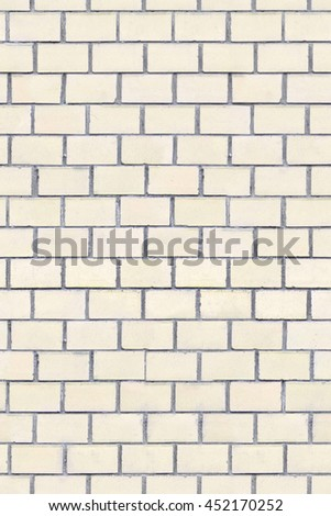 The surface of the symmetrical light brick, seamless texture - stock photo