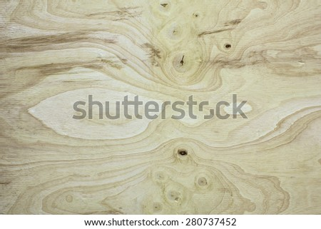 The surface of the wood pattern background, low relief texture of the surface, viewed from above. - stock photo