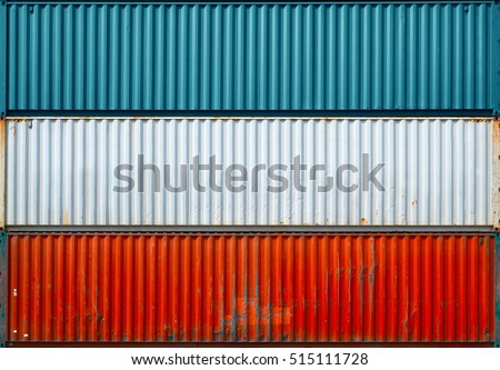 surface texture sea containerthree containers without