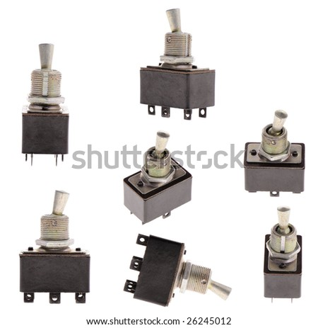 The switch - stock photo
