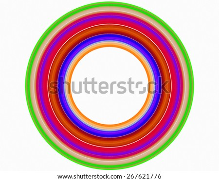 The symmetric and original image as a flower generated by the computer program.   - stock photo