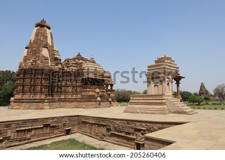 The Temple City of Khajuraho in India