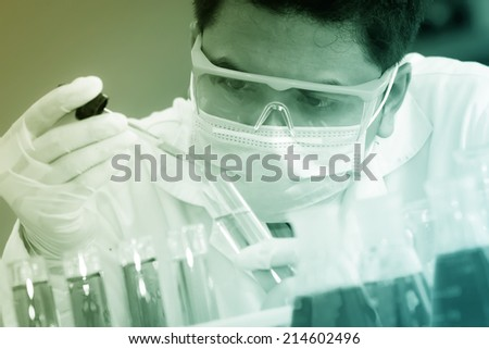 The testing and research analytically laboratories.