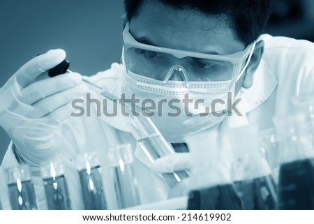 The testing and research analytically laboratories. - stock photo