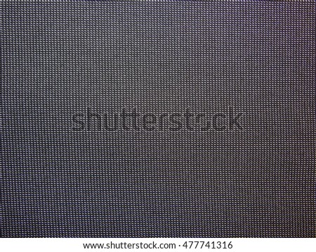 the texture of black cloth with white stripes, a close-up
