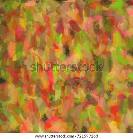 Texture Polychrome Paint Strokes Abstract Background Stock