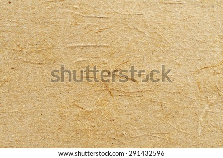 The texture of rough cardboard. - stock photo