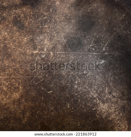 The texture of the old rough leather - stock photo