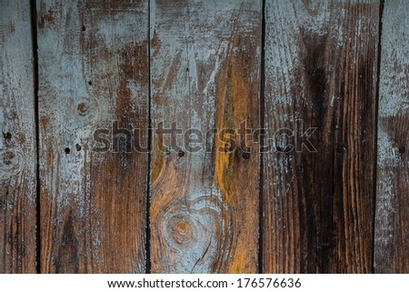 The texture of the wood planks - stock photo