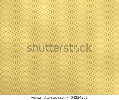 The textured background a grid honeycombs, yellow. An easy, air, geometrical transparent pattern for background design.