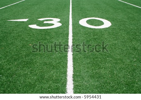 The Thirty Yard Line