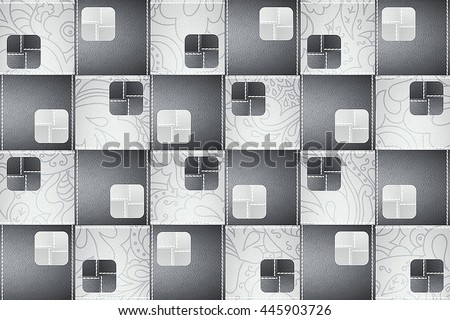 The Tiles Are Good Texture For Background Artworkinterior Decoration And Architectural Design