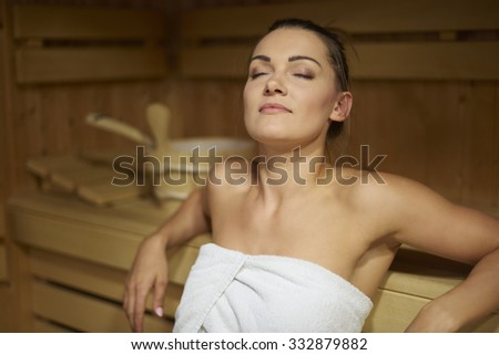 The time only for myself - stock photo