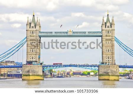 The Tower Bridge - stock photo