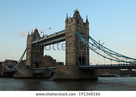 The Tower Bridge of London