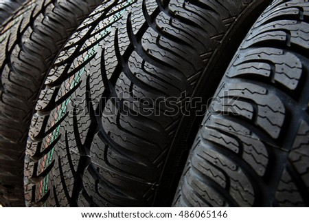 the tread pattern tires, tyres