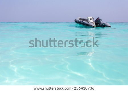 The tropical island paradise of Koh Tachai, Similan National Park, Thailand - stock photo