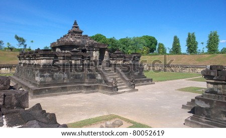 the underground hindu temple of candi sambisari