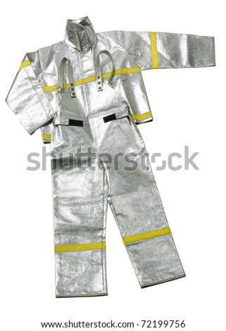 The uniform to protection heat from fire