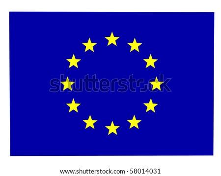 The unity flag - stock photo