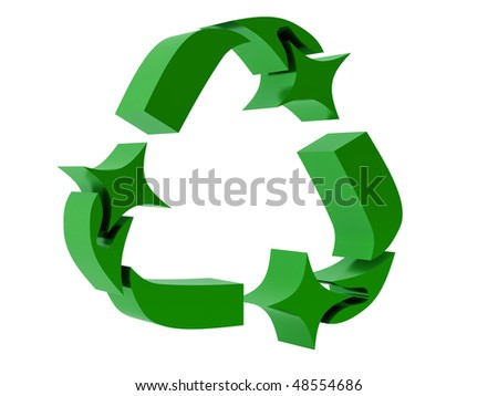 The Universal Recycling Symbol is a form of Mobius strip.
