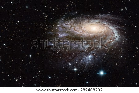 "The universe is all of the galaxies and milky way ""Elements of this image furnished by NASA "" - stock photo"